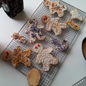 Halloween Honey Cookies 1
