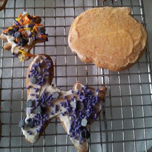 Halloween Honey Cookies 3