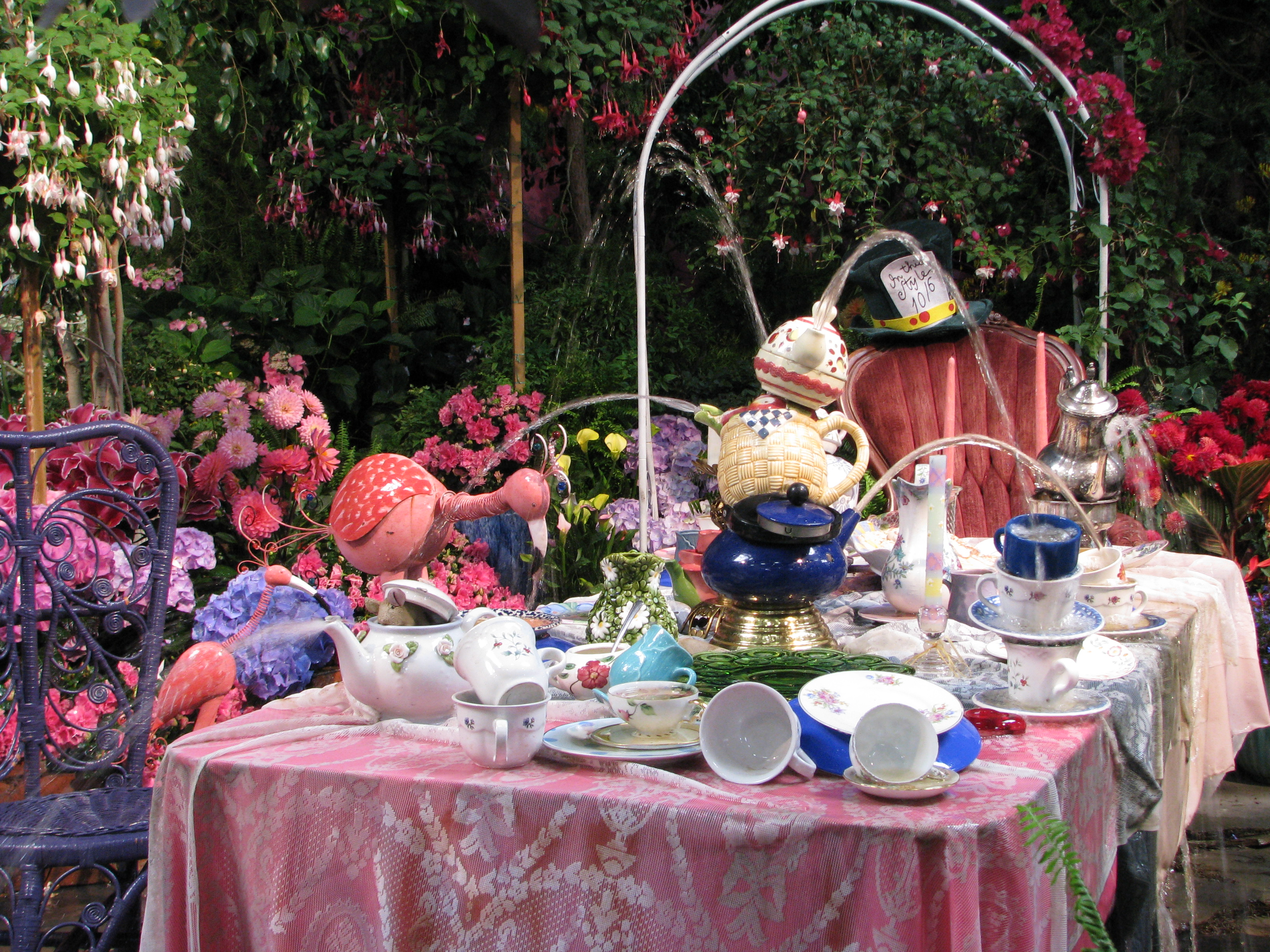 mad as a hatter's tea party!