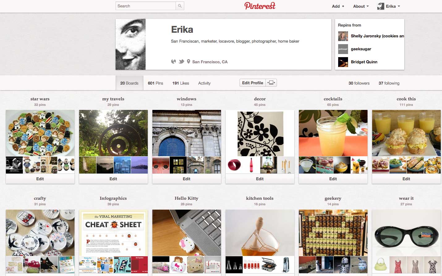 Misserikasf_Pinterest_boards